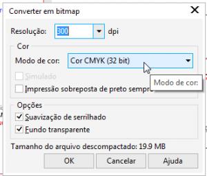 Convertendo imagem em Bitmap CMYK