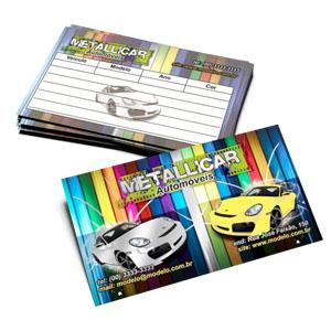 Cartão de Visitas l Impressão Metalizada l Gráfica Atual Card