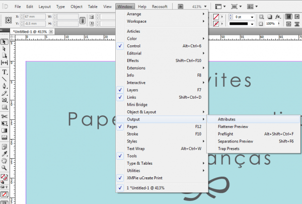 Illustrator-Attributes: Window > Output> Attributes