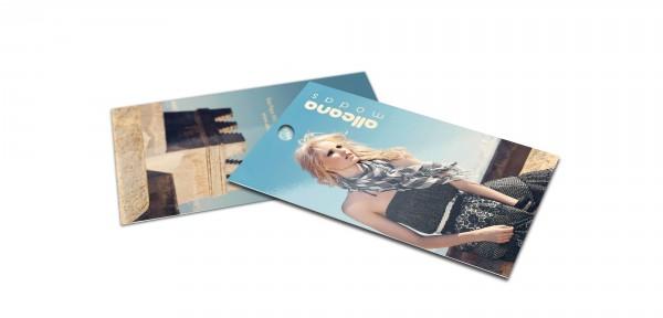 Tag Personalizada com acabamento de Furo | Instrucoes Atual Card